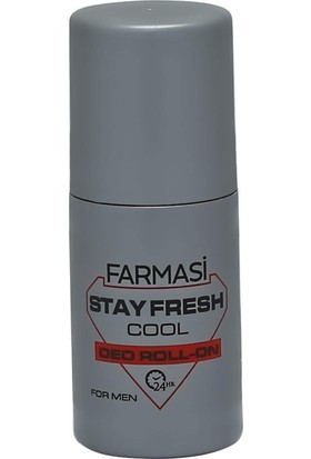 Farmasi Stay Fresh Cool Deo Roll On For Men 50 ml