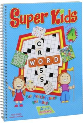 4.Sınıf Super Kids, İngilizce Öğreten Zeka Oyunları - Hasan Güneri