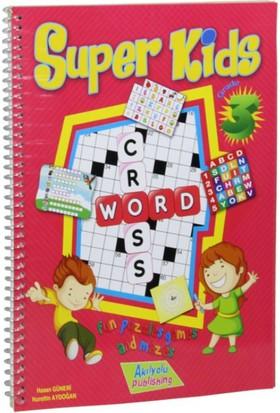 3.Sınıf Super Kids, İngilizce Öğreten Zeka Oyunları - Hasan Güneri