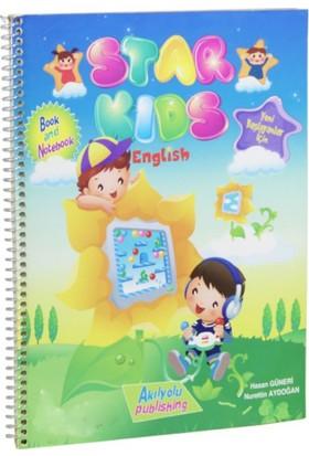 Star Kids, Yeni Başlayanlar İçin İngilizce Kitap Ve Defter - Hasan Güneri