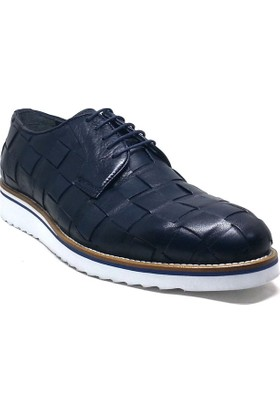 Shop And Shoes 075-2540 Erkek Ayakkabı Lacivert