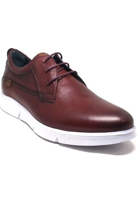 Shop And Shoes 075-8635 Erkek Ayakkabı Bordo