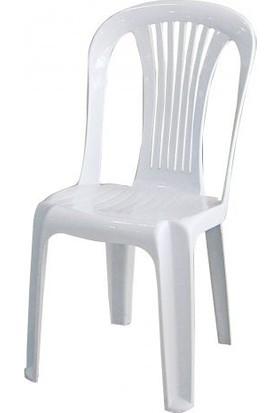 Arslan Plastik Asos Fiore Plastik Sandalye 10 Adet