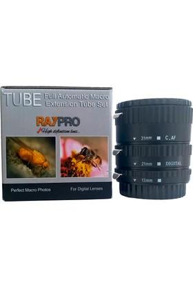 Raypro Canon Uyumlu Raypro Eko Otomatik Makro Uzatma Tüpü Seti