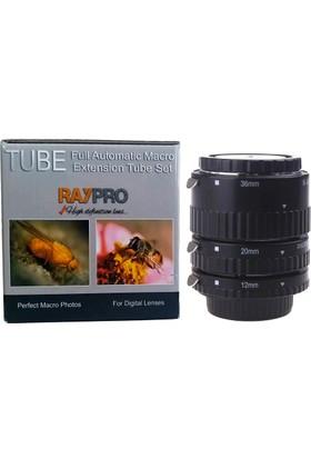 Raypro Nikon Uyumlu Raypro Eko Otomatik Makro Uzatma Tüpü Seti
