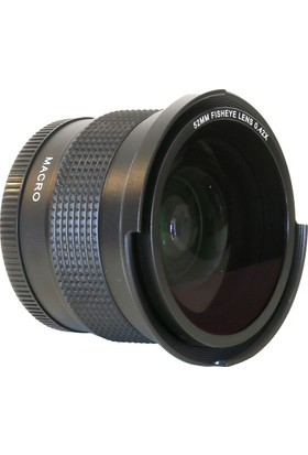 Raypro 52 mm 0.42x Super HD Fisheye + 12.5 Dioptri Makro Lens