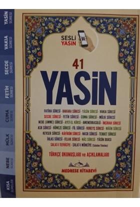 Türkçe Okunuşlu Ve Mealli, Sesli 41Yasin-İ Şerif (Çanta Boy) - Elmalılı Hamdi Yazır