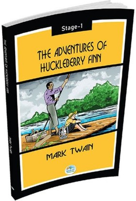 The Adventures Of Huckleberry Finn - Mark Twain (Stage 1) - Mark Twain
