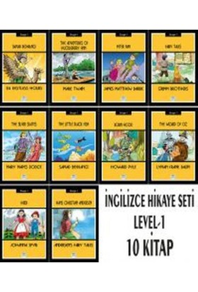 İngilizce Hikaye Seti (10 Kitap Takım - Stage 1)