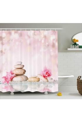 Orange Venue SPA Taşları ve Çiçek Duş Perdesi