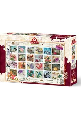 Art Puzzle 500 Parça Pul Kolaj