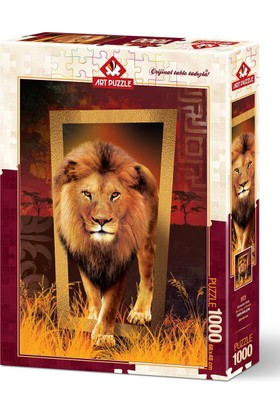 Art Puzzle 1000 Parça Ormanlar Kralı