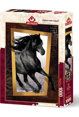 Art Puzzle 1000 Parça Yağız At