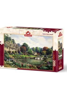 Art Puzzle 2000 Parça dağ Köyü