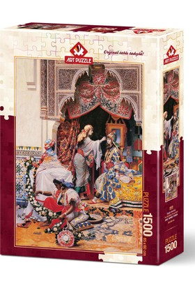 Art Puzzle 1500 Parça Düğün Hazırlığı
