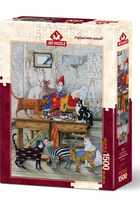 Art Puzzle 1500 Parça Renkli Dünyam