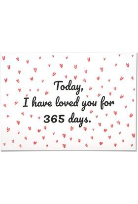 Pulp Today I Have Loved You For 365 Days Tebrik Kartı