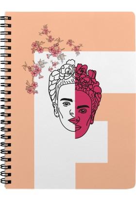 Pulp Kahlo Noktalı Defter (A4)