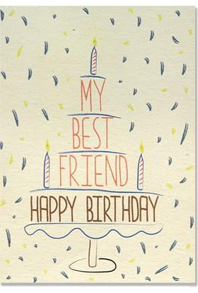 Pulp My Best Friend Happy Birthday Tebrik Kartı