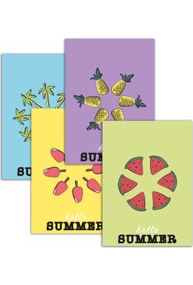 Pulp Hello Summer Set Kartları (4'lü)