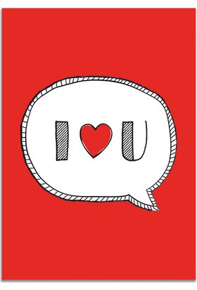 Pulp I Love You Kartpostal