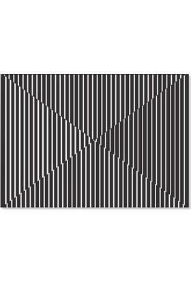 Kagito Çizgi Desenli Amerikan Servis (10'lu)