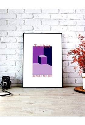 KagitoThink Outside The Box Poster