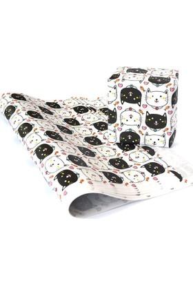 KagitoLovely Cats Hediye Kağıdı (10'lu Paket)