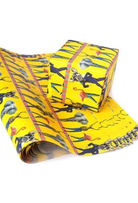 KagitoUrban Jungle Hediye Kağıdı (10'lu Paket)