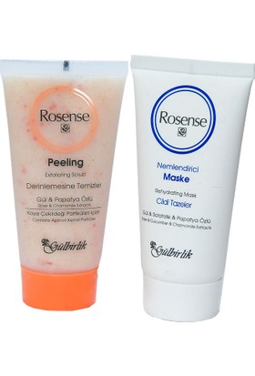 Rosense Yüz Temizleme Seti - Maske & Peeling