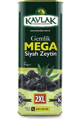 Kavlak Mega Siyah Zeytin 1 kg
