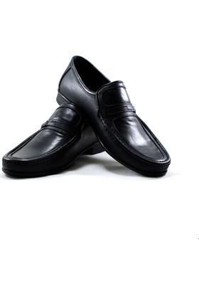 Marutti Hakiki Deri Erkek Ayakkabı Siyah