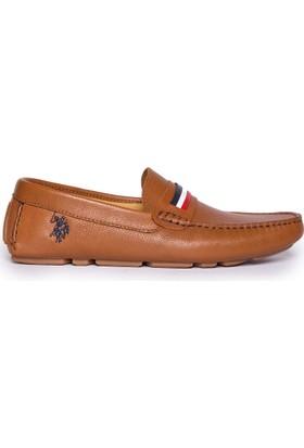 U.S. Polo Assn. Erkek Ayakkabı Kahverengi