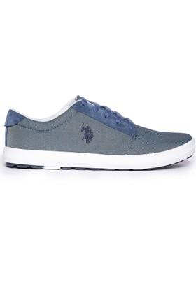 U.S. Polo Assn. Erkek Ayakkabı Mavi