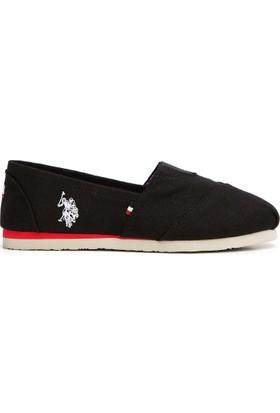 U.S. Polo Assn. Kadın Ayakkabı Siyah
