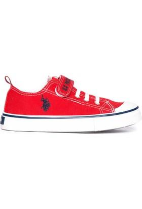 U.S. Polo Assn. Erkek Çocuk Ayakkabı Kırmızı