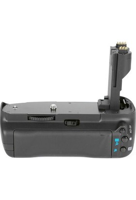 MeiKe Canon EOS 7D İçin MeiKe MK-7D Battery Grip BG-E7 + 2 Adet LP-E6 Batarya