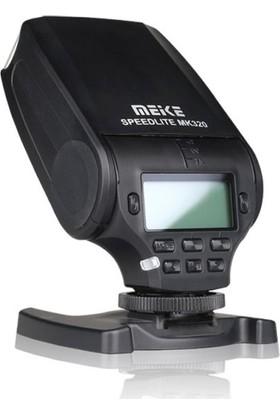 MeiKe Canon için MeiKe MK320C TTL Master HSS Speedlite Flaş