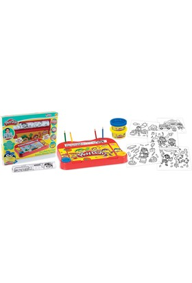 Play-Doh Rulolu Aktivite Tepsisi