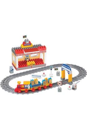Dede Raylı Tren Seti Bloklar