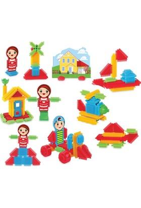Dede Kaktüs Blocks 75 Parça Eğitici Öğretici Oyuncak Blok Lego