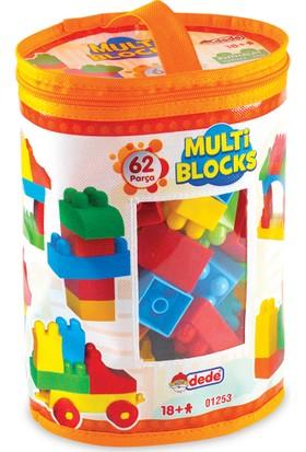 Dede 01253 Multı Blocks 62 Prç