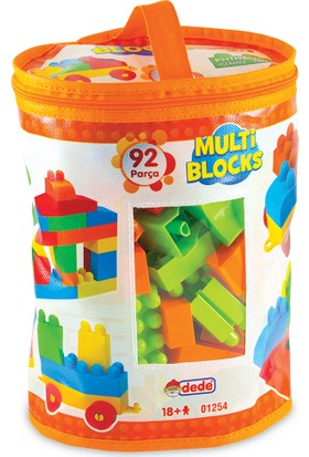 Dede Multi Blocks / 92 Parça