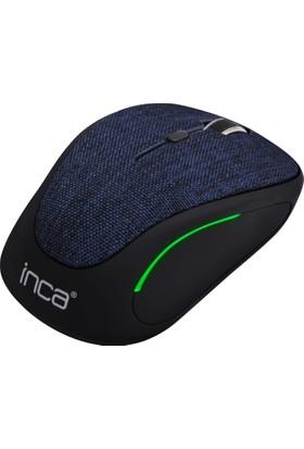 Inca IWM-300RL Kumaş Yüzey7 LED Wireless Mouse