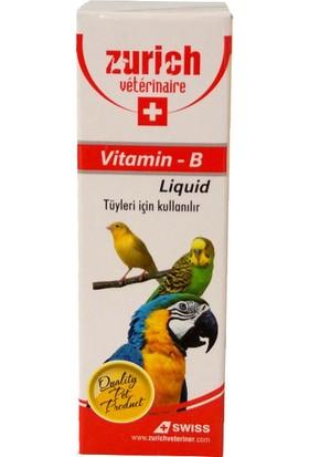 Zurich Kuşlar İçin B Vitamini 30 Ml