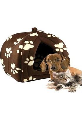 Markapet Pet Hut Polar Kedi Köpek Yatağı 32*38 Cm