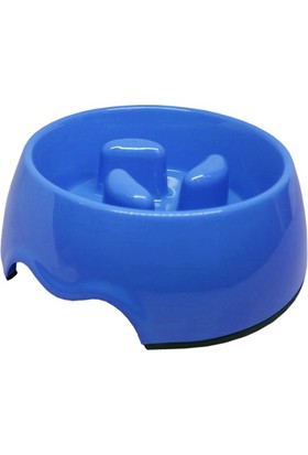 Pet Garden Köpek İçin Yavaş Besleme Mama Kabı 0,25 L Mavi