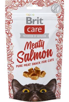 Brit Care Snack Meaty Salmon Somonlu Kedi Ödülü 50 Gr