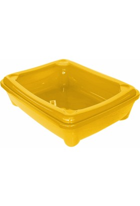 Catia Kedi Tuvalet Kum Kabı 49/37/13.5 Cm Sarı
