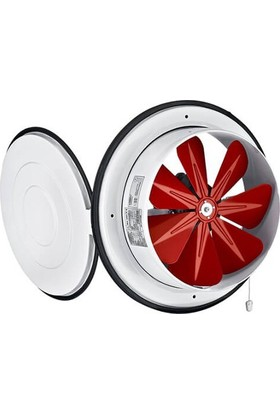 Dündar K 16 Kapaklı Aksiyel Aspiratör Fan 350 M³ 16 Cm